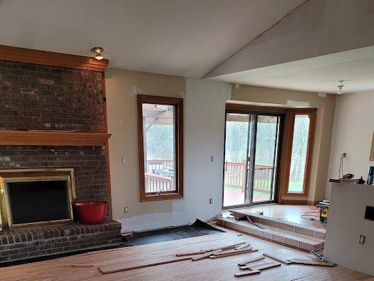Milford Hardwood Floor Installation