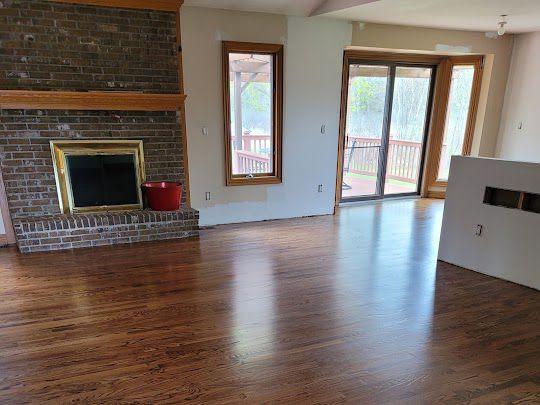 Milford Hardwood Flooring Finished Product