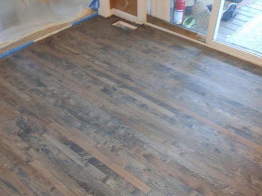 Existing Maple Hardwood Floor Refinishing Pinckney