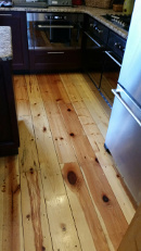 Testimonial 1 Hickory Wood Flooring Installed