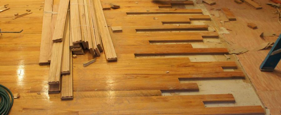 Engineered Hardwood Water Damage